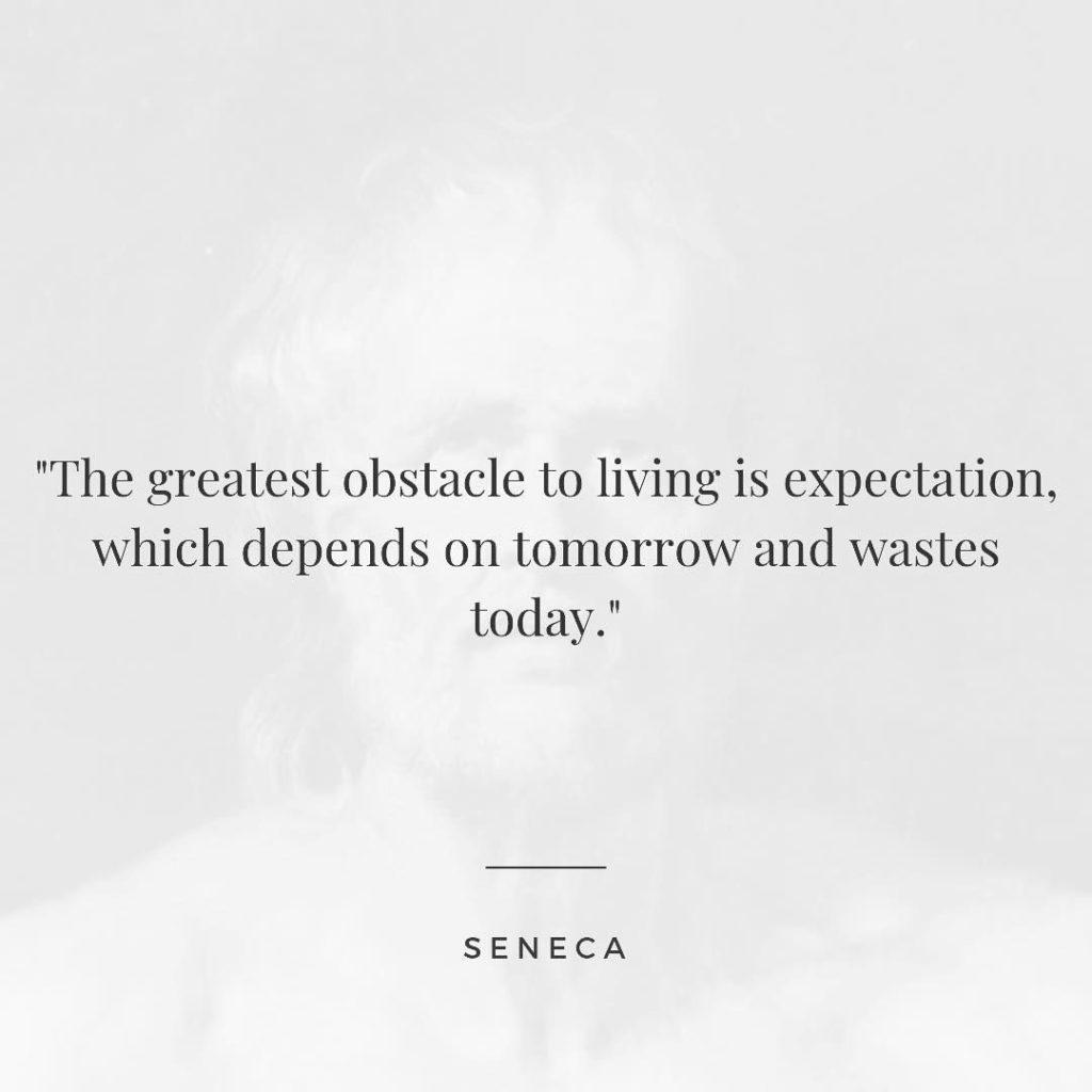 "Daily Stoic on Instagram: ""Seneca. On The Shortness of Life."""
